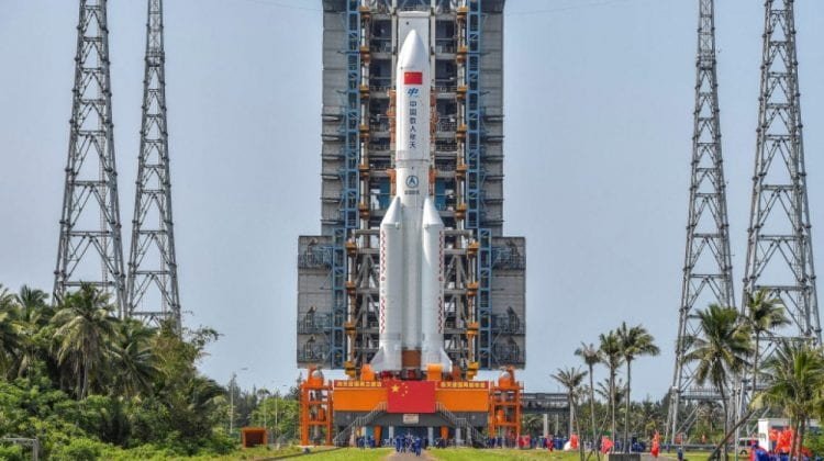 Pericol! O parte a unei rachete chinezești a scăpat de sub control. Va intra necontrolat în atmosferă