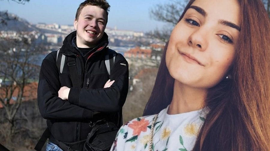 După ce a fost reținută și iubita lui Roman Protasevici, acum tânăra se află într-un centru de detenție de la Minsk