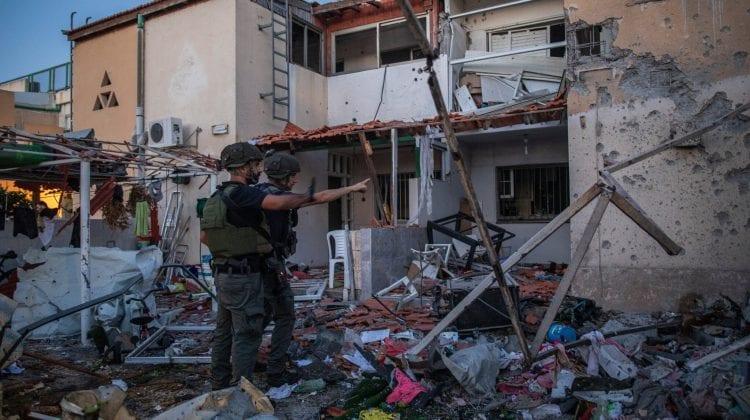 (GALERIE FOTO) Ruinele conflictului armat dintre forțele israeliene și cele din Palestina