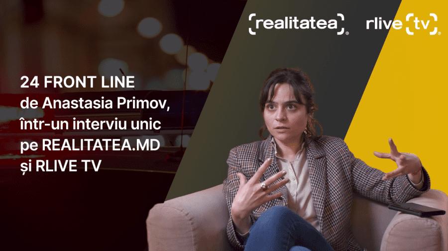 (VIDEO) 24 de ore cot la cot cu medicii și polițiștii, într-un interviu cu Anastasia Primov, producătoarea 24 FRONTLINE