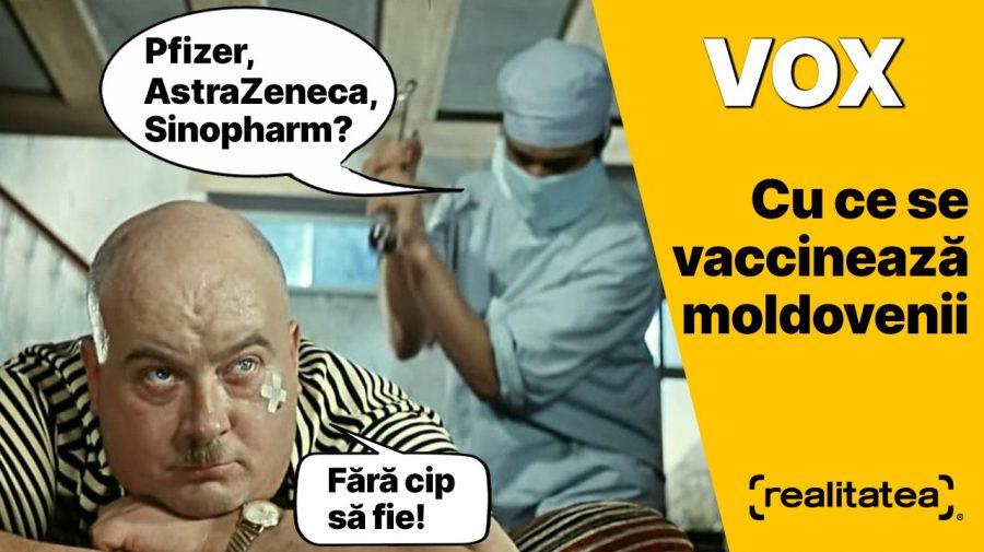 """(VIDEO) """"Toate vaccinurile sunt bune, însă eu aleg Pfizer!"""" Moldovenii au luat cu asalt al doilea maraton anti-COVID"""