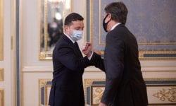 Prima întâlnire dintre Vladimir Zelenski și Antony Blinken la Kiev. Vezi principalul subiect