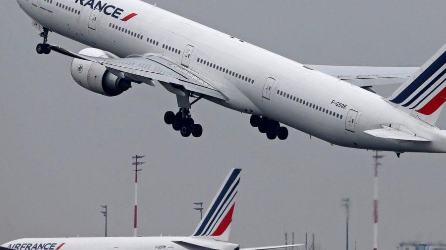 AirFrance anulează pentru a treia oară consecutiv zborul Paris-Moscova