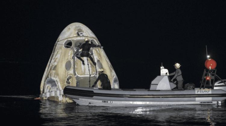(VIDEO) A doua aterizare în istoria NASA pe timp de noapte după 53 de ani