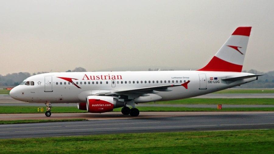 Compania Austrian Airlines a primit accept din partea Rusiei de a intra în spațiul aerian rusesc