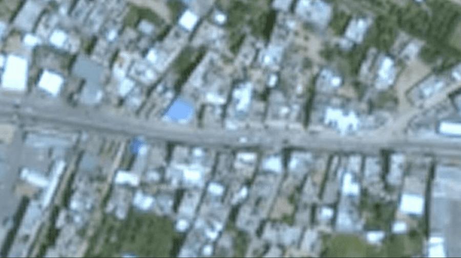 (FOTO) Israel-Gaza: De ce regiunea este neclară pe Google Maps?