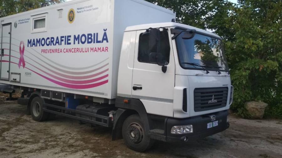Mamografiile mobile își reiau activitatea! Când vor porni vehiculele prin raioane