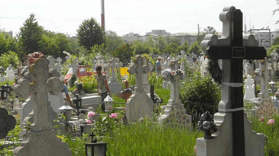 Acces restricționat în cimitirele din Capitală. De Blajini, fără vizite la mormintele celor dragi