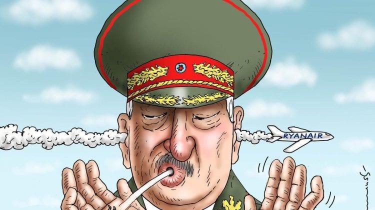 (NO COMMENT) Imaginea lui Lukaşenco, în contextul scandalului internaţional