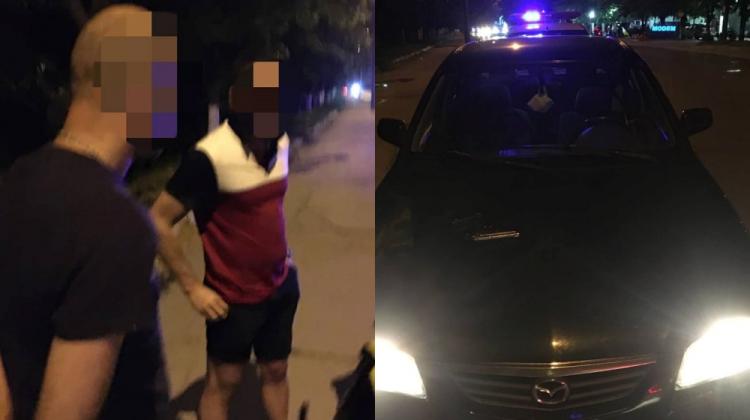 """Se deplasau prin capitală, împușcând din mașină! Trei amici amenințător de """"distractivi"""", documentați (FOTO)"""