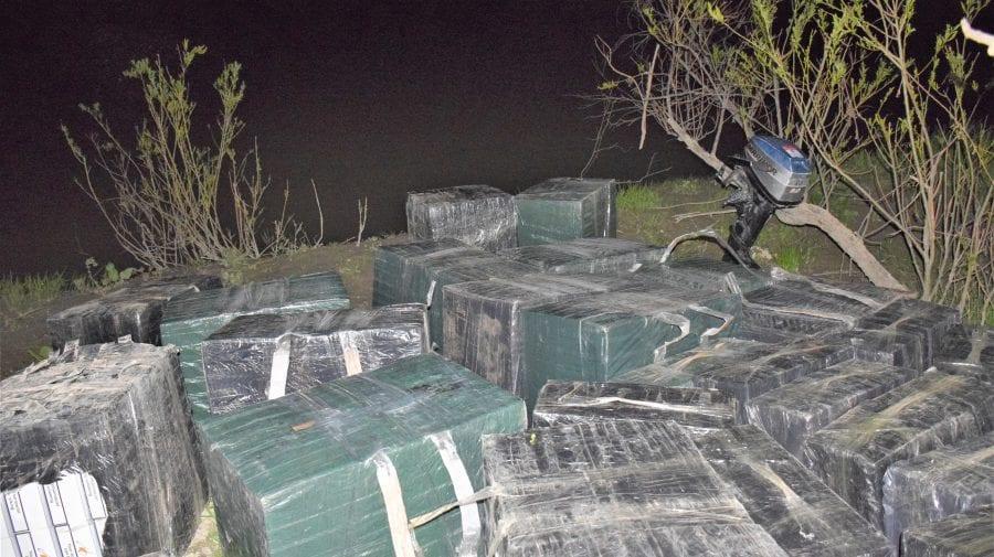 Un angajat al Poliției de Frontieră, reținut în dosarul contrabandei cu țigări de pe malul Prutului
