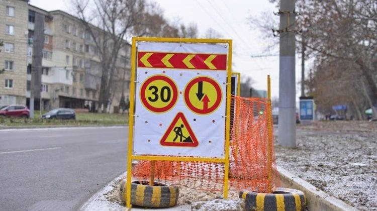 Atenție, șoferi! Traficul rutier pe o stradă din sectorul Buiucani va fi suspendat total