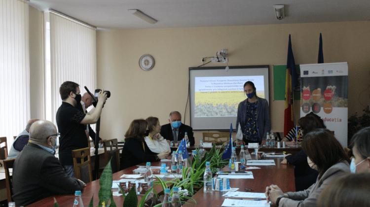 Facilități pentru studenții Colegiului Agroindustrial din Ungheni. Va fi modernizat echipamentul pentru studii