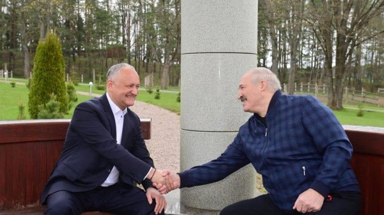 """(VIDEO) Prietenul lui Lukașenko, Dodon,""""împotriva ca Moldova să se alăture sancțiunilor europene împotriva Belorusiei"""""""