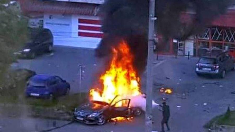 (VIDEO) Explozia care l-a ucis pe un cunoscut om de afaceri. Psiholog criminalist: Este bănuită lumea interlopă!
