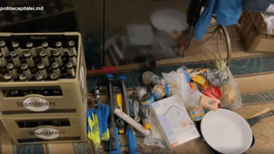 (VIDEO) Doi minori din Capitală, suspectați de furt. Prejudiciul cauzat a fost estimat la 50 de mii de lei