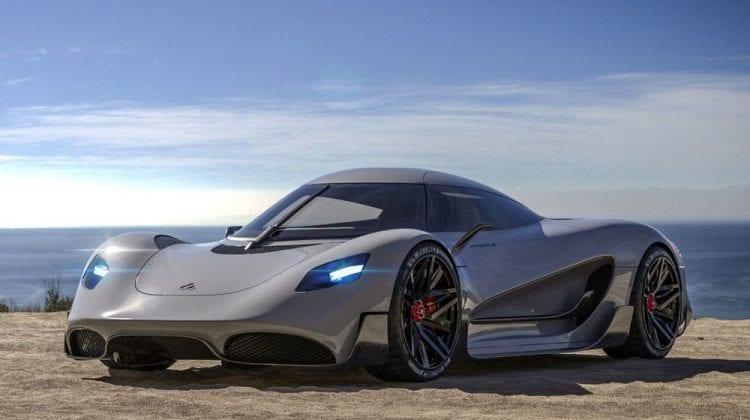 (FOTO) Acesta va fi cel mai tare hypercar cu 1.100 de cai putere, alimentat cu hidrogen
