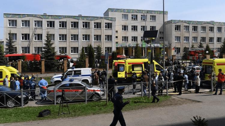 (VIDEO) Tragedie într-o școală din Rusia. În urma unor împușcături, 11 persoane au murit, inclusiv copii