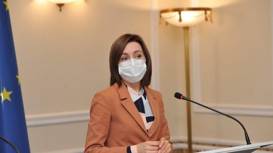S-a vaccinat anti-COVID. Maia Sandu: Încurajez toți cetățenii Republicii Moldova să se imunizeze