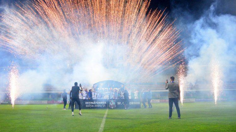 (FOTO) Sfântul Gheorghe a câștigat în premieră Cupa Moldovei