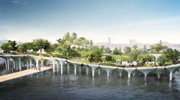 (FOTO) Parc plutitor în New York! Cum arată zona care a întrecut așteptările locuitorilor