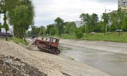 Gata cu inundațiile pe strada Albișoara? CMC a avizat un proiect care prevede reabilitarea râului Bâc