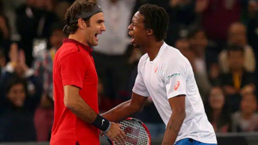 Legendarul Roger Federer i-a dat o lovitură sub centură unui tenismen sub privirile logodnicei acestuia