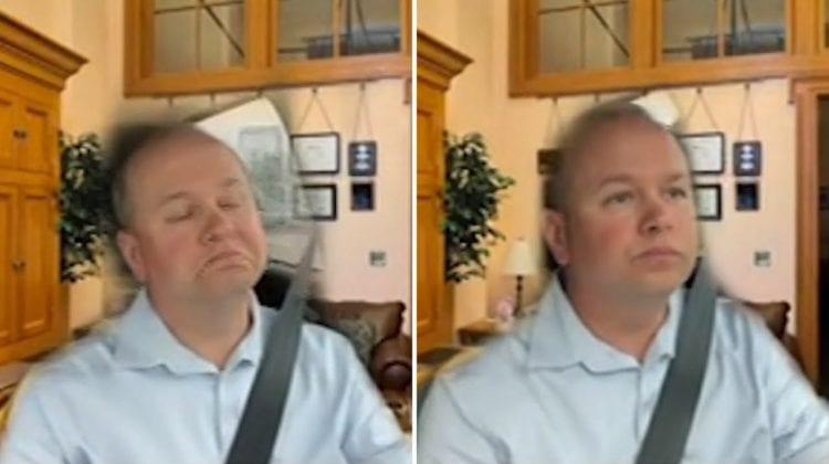 (VIDEO) Un senator american conducea automobilul în timpul unei videoconferințe. Vezi cum a încercat să deghizeze