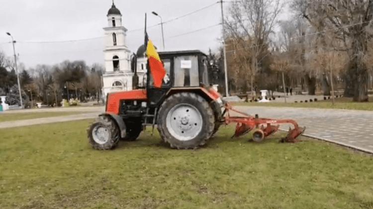 Dezmățul unui fermier care a protestat, anul trecut, în centrul Capitalei, pedepsit! Cât va scoate din buzunar