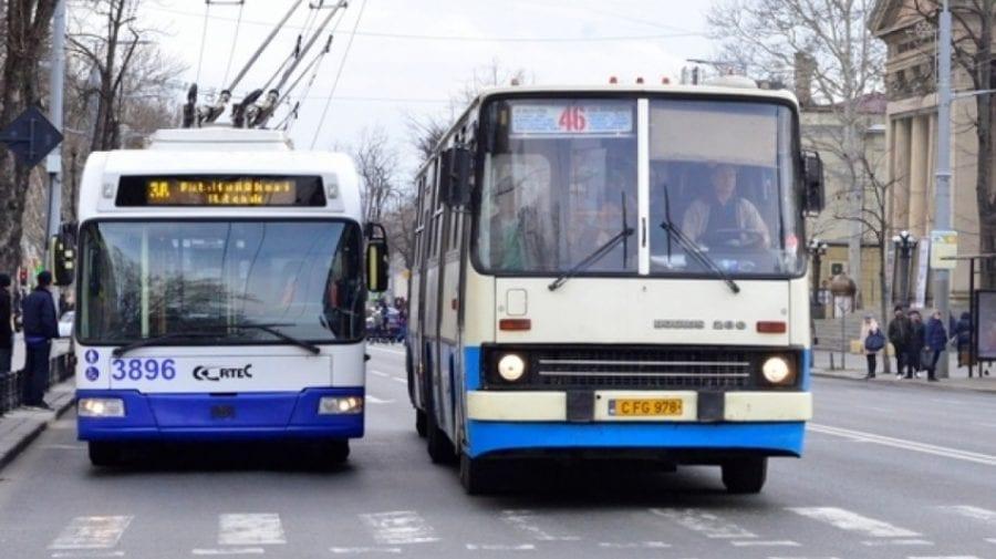 Cum va circula transportul public din Chișinău în Noaptea Învierii și de Paști