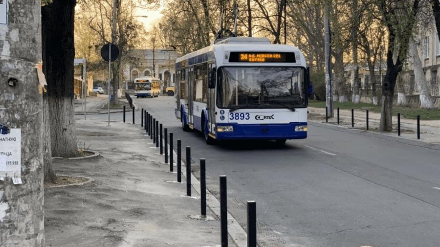 În atenția călătorilor! Troleibuzele de pe ruta nr. 24 își schimbă parțial itinerarul
