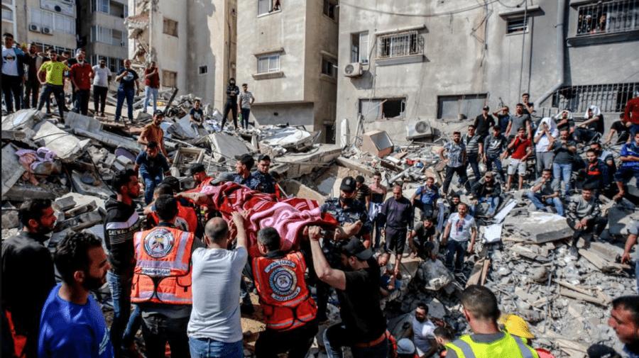 (VIDEO) Cea mai sângeroasă zi de la debutul violențelor israeliano-palestiniene: cel puțin 43 de morți