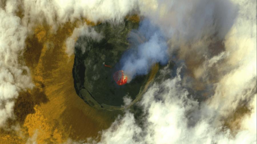 (FOTO) Apocalipsa, acum, în Congo. Imagini după erupţia vulcanului Nyiragongo