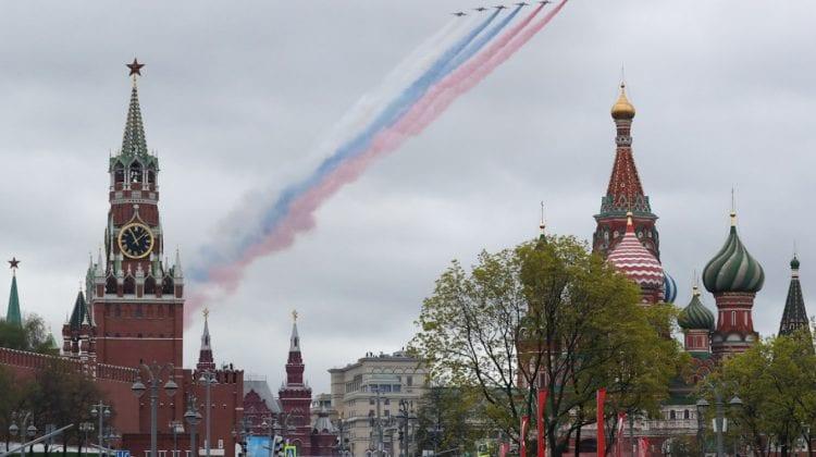 (GALERIE FOTO) Parada din Piața Roșie la 76 de ani de la victoria din cel de-al Doilea Război Mondial