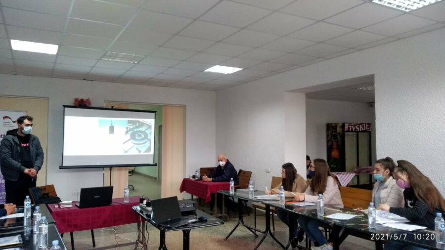 Lucrările de reabilitare a liceului din Holercani, monitorizate din punct de vedere energetic