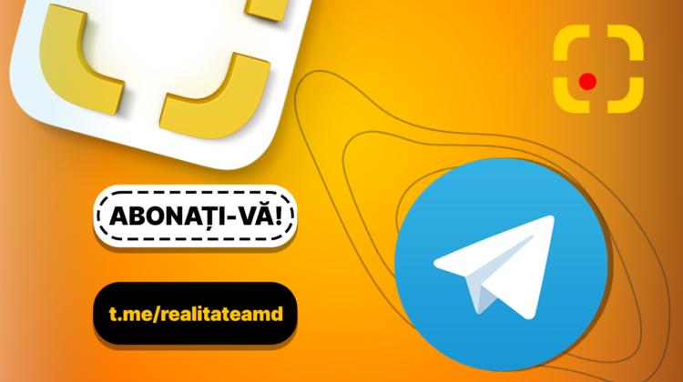 Abonează-te la canalul nostru de TELEGRAM! Fii parte a comunității Realitatea.md