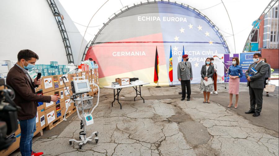 (FOTO) Guvernul Germaniei a donat un lot de asistență în valoare de 9,6 milioane de EURO pentru Republica Moldova