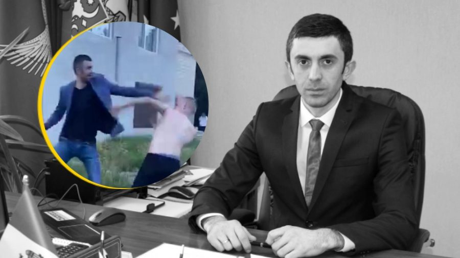 Pumni și picioare! Președintele raionului Drochia s-ar fi luat la bătaie (VIDEO 18+)
