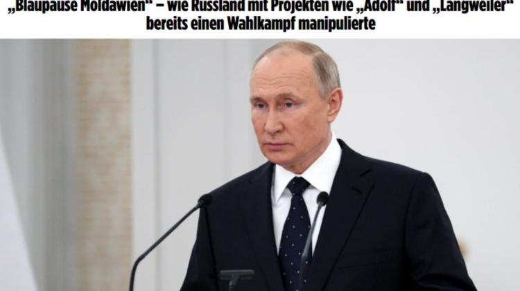 FOTO Știrea că Putin a investit în Dodon milioane de euro face înconjurul lumii