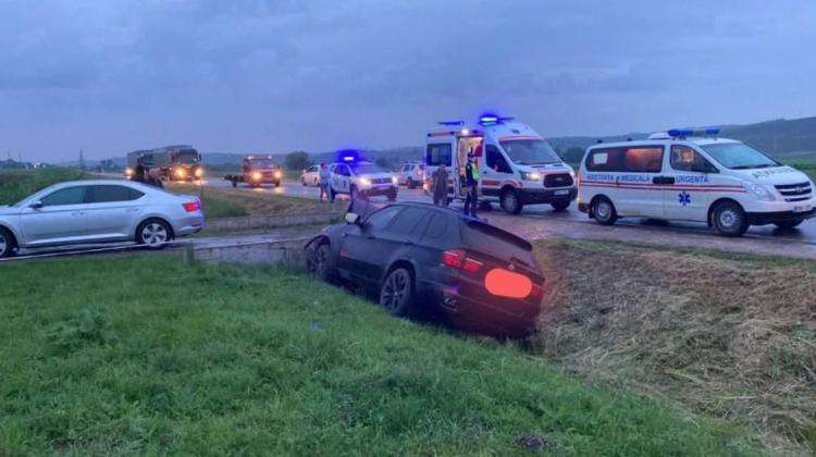 Accident pe traseul Hîncești-Bozieni. O persoană a avut nevoie de spitalizare