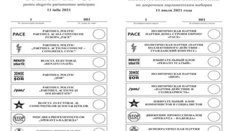 Câte milioane de buletine vor fi tipărite pentru alegerile parlamentare. Numărul, aprobat pentru diasporă