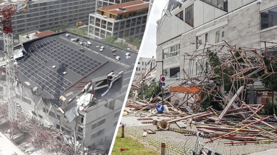 FOTO, VIDEO Imagini cu clădirea din Belgia, unde a murit un moldovean de 29 de ani