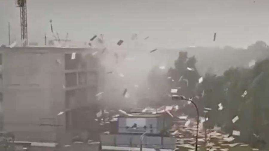 VIDEO Prăpăd în Moscova! O furtună de câteva minute a inundat orașul puternic