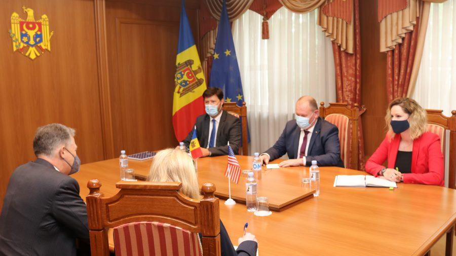 Aureliu Ciocoi: Apreciem susținerea americană a proceselor democratice în R Moldova