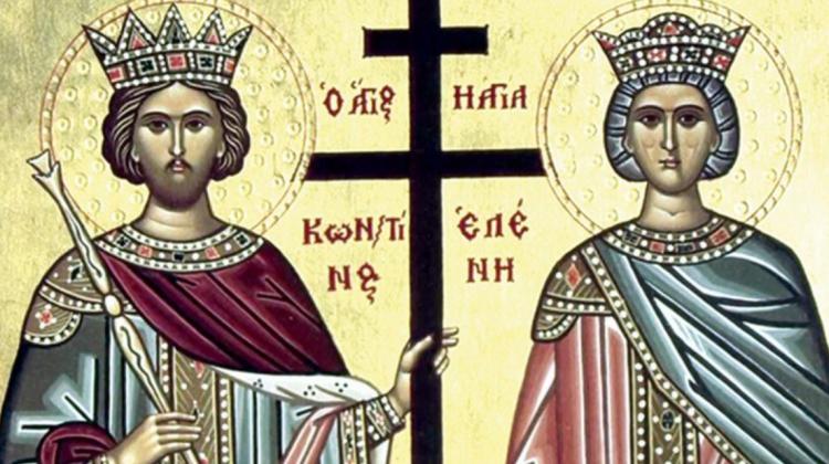 Sărbătoare pentru creștinii ortodocși. Sunt cinstiți sfinții Constantin și Elena