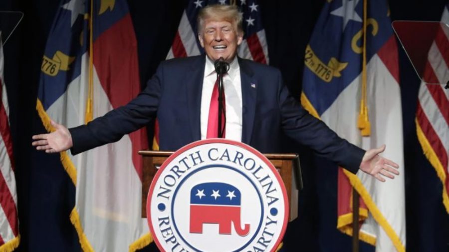 """(VIDEO) Donald Trump, pentru prima dată după trei luni de """"dispariție"""", a ieșit în public cu un discurs de scandal"""