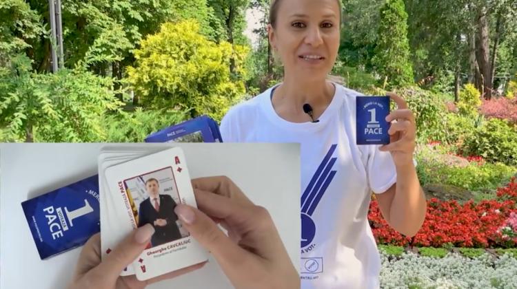 """VIDEO Cavcaliuc """"tuz de dobă"""". Metoda inedită prin care PACE își prezintă candidații"""