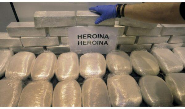 UPDATE Oamenii legii, în alertă! Au capturat un lot record de heroină pe teritoriul țării noastre