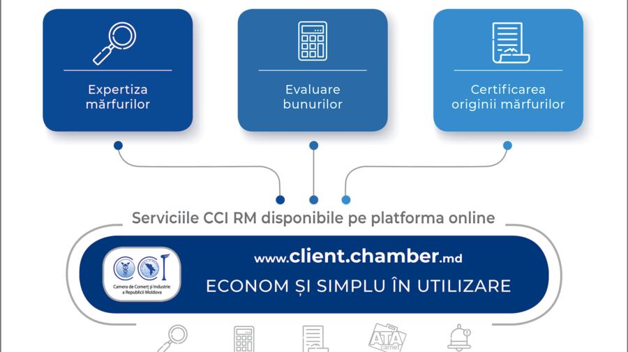 Întreprinderile trec la serviciile online ale Camerei de Comerț și Industrie a Republicii Moldova