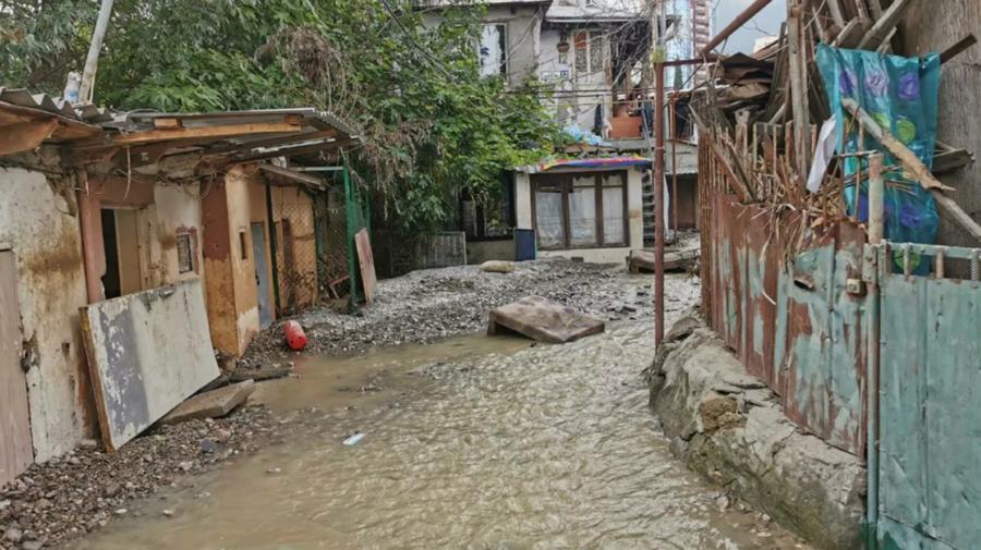 VIDEO Ploile abundente au cuprins din nou Ialta, la numai o săptămână după inundațiile majore